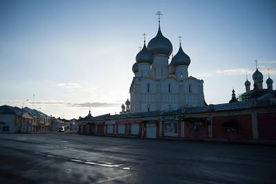 Rostov Veliky, Sergiev Posad, Moscow