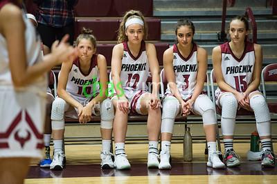 Kendall Spohr (10), Olivia Ouimet (12), Tiffany Martirossian (11), Brooke Beaton (15)