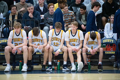 Nate Brown (22), Mark Siegel (14), Luke Brenner (12), Caleb Rexroad (3), Matthew Anderson (1)