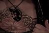 Jennifer's home-made Tom Waits pendant