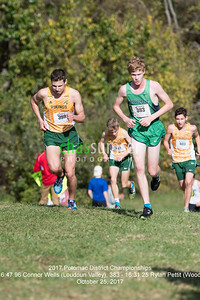 399 - 16:47.96 Connor Wells (Loudoun Valley), 383 - 16:31.25 Rylan Pettit (Woodgrove)