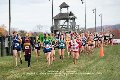 1397 19:11 Ava Hassebrock (Tuscarora), 116 19:08 Ellie Desmond (Broad Run), 1402 18:24 Emma Wolcott (Tuscarora)