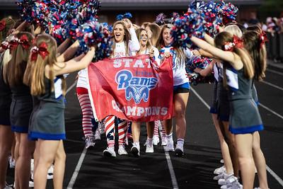Riverside Cheerleaders, Girls Lacrosse State Champions
