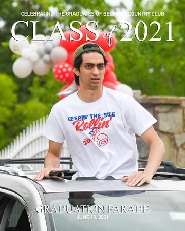 2021 Belmont Grad Parade-4a