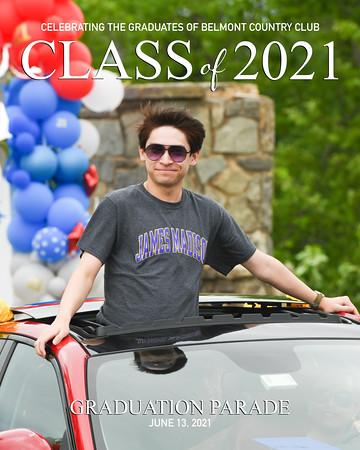 2021 Belmont Grad Parade-30a