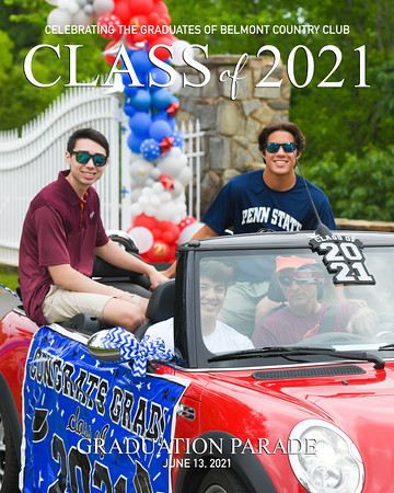 2021 Belmont Grad Parade-7a