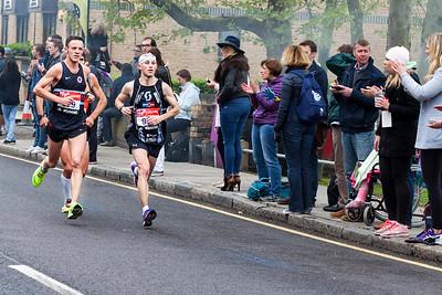 London Marathon 2015 participant