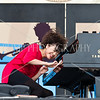 Hiromi at the Newport Jazz Festival 2011.