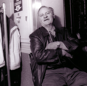 Vern Gosdin backstage at the Ryman