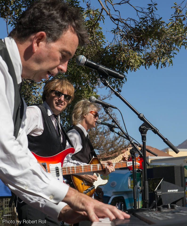 Sgt. Pepper frontmen Dennis Jones, Bill Horn and Tom Kolb turn the sixth annual Camarillo Chili Cook-Off and Music Festival into another Pleasant Valley Sunday.