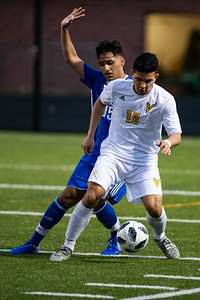 Jefferson Martinez (12), Dominic Orellana-Duron (15)