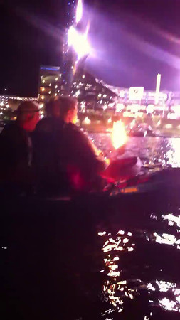 Fire Video at PNC on Kayak