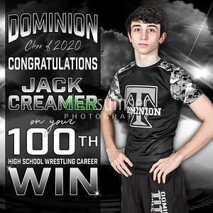 2018 DO WR Creamer 100