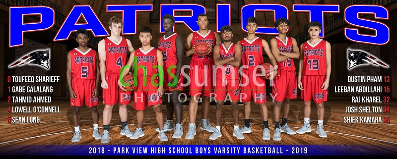 2018 Park View Basketball