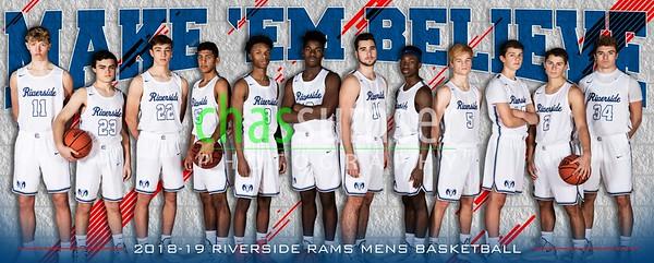 2018 Riverside Boys Basketball Team Banner