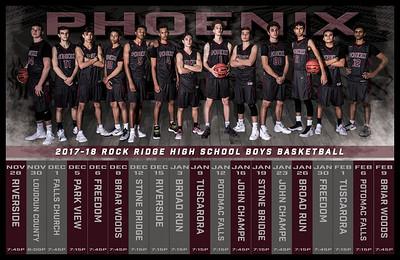 2017 RR B BB Schedule Poster