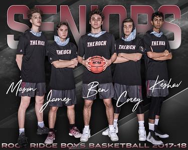 2018 RR Boys Basketball Senior Photo