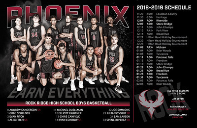 2018 RR BBB Schedule Poster 11x17 2