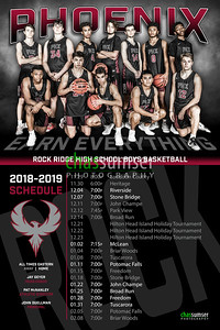 2018 RR BBB Schedule Poster