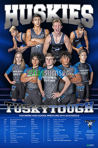 2019 TU WR Schedule Poster