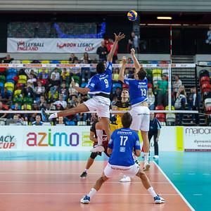 London Legacy Volleyball Cup: VfB Friedrichshafen vs PGE Skra Bełchatów (men)