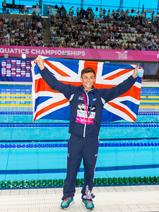 LEN European Aquatics Championships Day 7: Tom Daley wins Gold in 10m Platform Final, London, UK