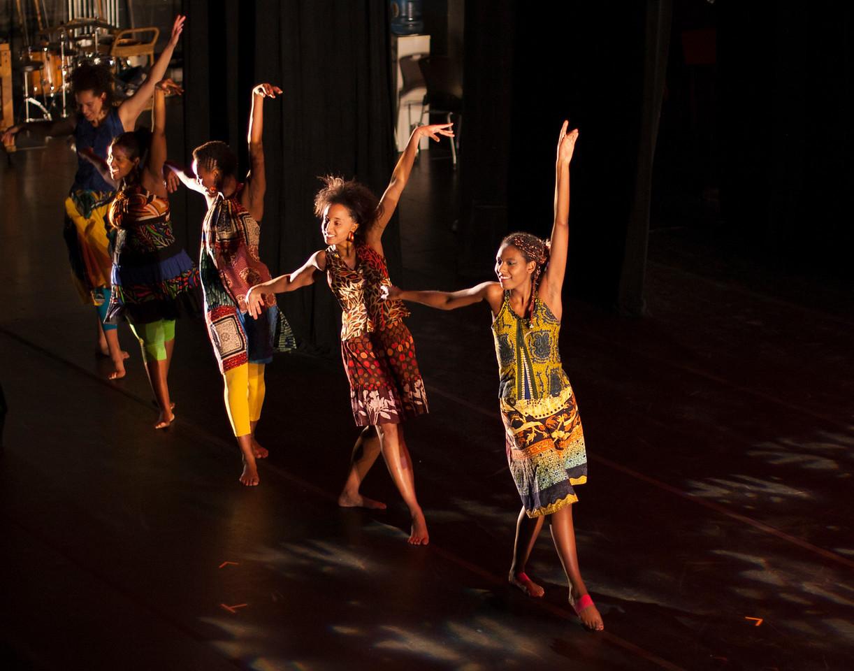 Dance Medley Concert. Kusika. November 17, 2011. Williams College '62 Center