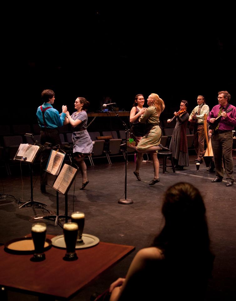Inish Concert. March 8, 2012. Williams College '62 Center