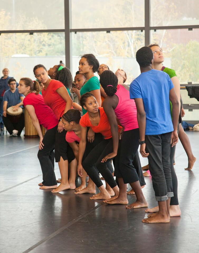 Dance Open House. November 2011. Williams College '62 Center
