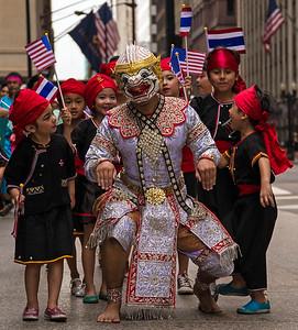 The Thai Festival Parade