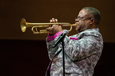 Orbert Davis Plays His Horn