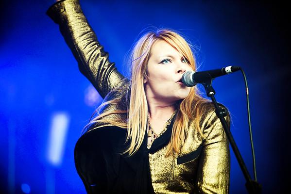 The Duke Spirit perform at 1234 Festival on 01//09/2012