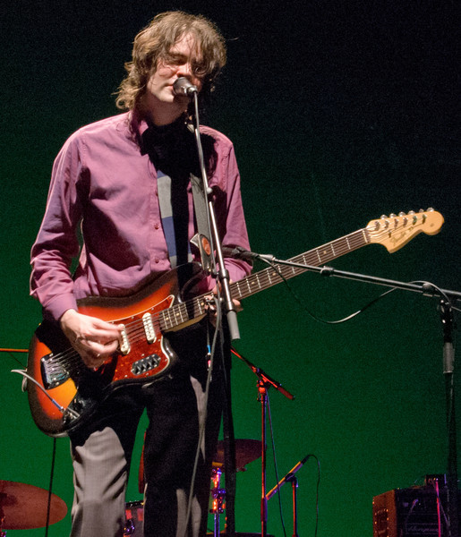 Jon Brion sporting his vintage Bass VI.