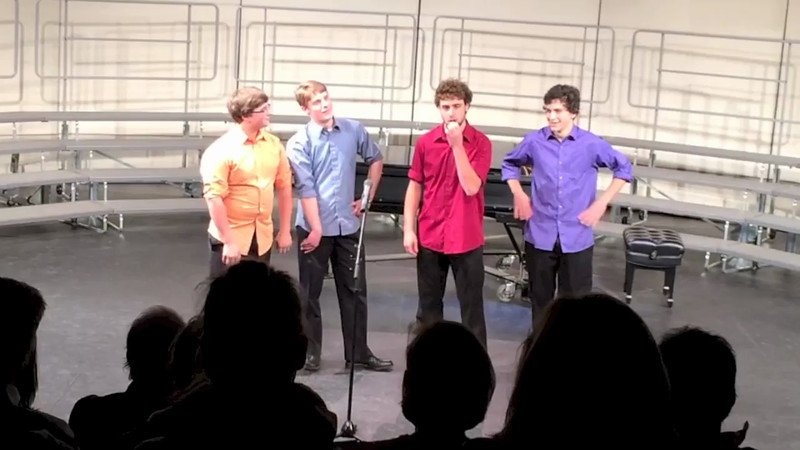 """The Key of H sings """"Java Jive"""" at Fall Concert'13 (Wednesday), Hanover High School. (720p)"""