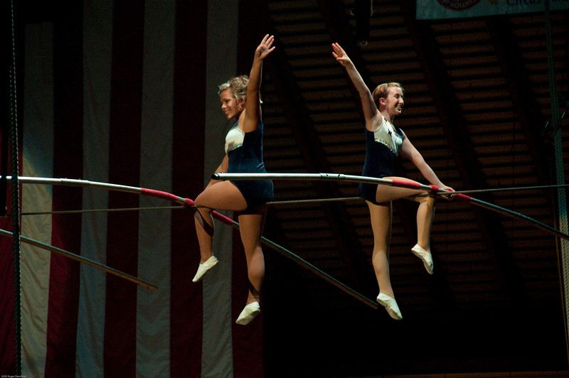 Tightwire performers