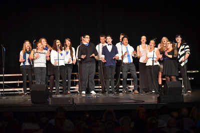 Blue Knights Chamber Singers from Manchester West High School (NH)