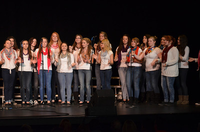 Singers from Pinkerton Academy