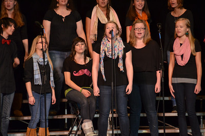 Female A cappella Group from ConVal High School