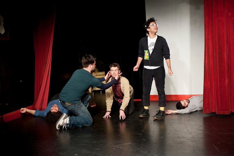 """""""The Great Mix-Up"""" at People's Improv Theatre"""