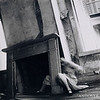 Francesca Woodman (1958–1981)<br /> House #4, 1976<br /> gelatin silver print <br /> 4 15/16 x 5 1/16 in. (12.5 x 12.9 cm)<br /> 1977.14<br /> museum purchase, Addison Gallery of American Art, Phillips Academy, Andover, MA