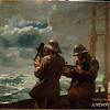 Winslow Homer (1836–1910)<br /> Eight Bells, 1886<br /> oil on canvas<br /> 25 3/16 x 30 3/16 in. (63.9 x 76.7 cm)<br /> 1930.379<br /> gift of anonymous donor, Addison Gallery of American Art, Phillips Academy, Andover, MA