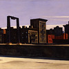 Edward Hopper (1882–1967)<br /> Manhattan Bridge Loop, 1928<br /> oil on canvas<br /> 35 x 60 in. (88.9 x 152.4 cm)<br /> 1932.17<br /> gift of Stephen C. Clark, Esq., Addison Gallery of American Art, Phillips Academy, Andover, MA