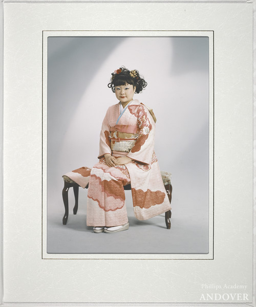 © Tomoko Sawada (b. 1977)<br /> Omiai (#7), 2001<br /> chromogenic print and mixed media<br /> 12 3/8 x 10 5/16 in. (31.5 x 26.2 cm)<br /> Harvard Art Museums/Fogg Museum, Kate, Maurice R. and Melvin R. Seiden Purchase Fund for Photographs, P2004.14<br /> Photo: Allan Macintyre © President and Fellows of Harvard College