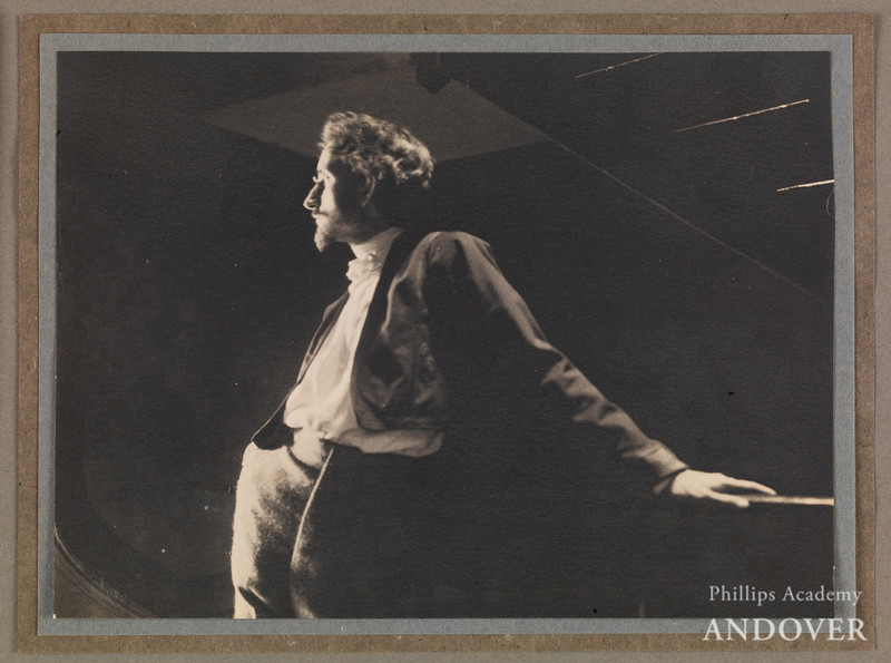 Alvin Langdon Coburn (1882–1966), Portrait of F. Holland Day , 1909, 4 3/4 in. x 6 5/16 in. (12 cm x 16 cm), The Royal Photographic Society Collection at the National Media Museum. Purchased with the assistance of The Art Fund. <br /> Photo credit: National Media Museum/SSPL
