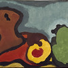 "Arthur Dove (1880 –1946), Autumn, 1935, tempera on canvas, 14 x 23 in. (35.56 x 58.42 cm), bequest of Edward Wales Root, 1957.29<br /> From ""Eye on the Collection"""