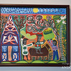 Joy. Magdam. 2012. Oil on fabric.