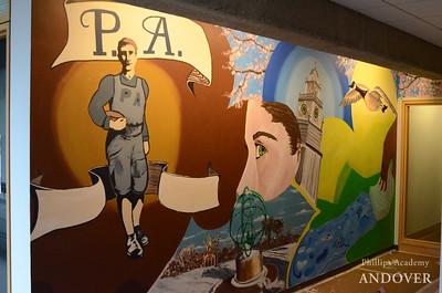 Daze & Painting II Mural