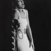 Lucien Aigner, Josephine Baker sings at a charity a air in Paris, ca. 1934. Gelatin silver print, 13 × 91⁄4 in. (33 × 23.5 cm)