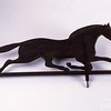 anonymous, Weathervane, Pennsylvania, 19th century, carved wood (pine), 25 in. x 46 in., Addison Gallery of American Art, Phillips Academy, Andover, MA, museum purchase, 1947.30