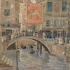 Maurice Prendergast, Venice, c. 1898–99, watercolor and graphite on wove paper, bequest of Lizzie P. Bliss, 1931.96